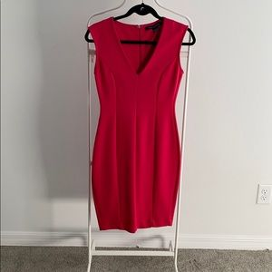 Red Small French connection dress